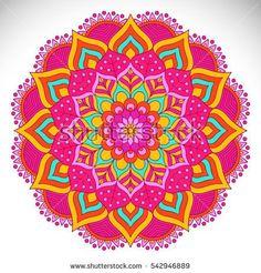 Ornament beautiful card with mandala Mandala Art, Mandala Design, Sacred Geometry Art, Mandala Coloring, Pretty Art, Colour Schemes, Coloring Pages, Embroidery Designs, Stencils