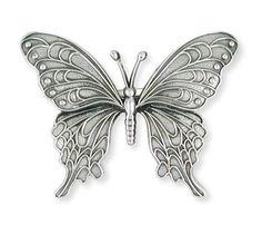 Solid Sterling Silver Butterfly Ring Jewelry  BY5R by Efsterling, $288.00
