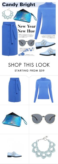 """New Year New Hue: Candy bright!"" by ifchic ❤ liked on Polyvore featuring Mohzy, Karen Walker, Toga, DIANA BROUSSARD and contemporary"