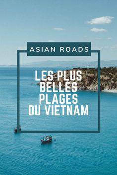 Nous avons sélectionné pour vous les plus belles plages du Vietnam. Découvrez notre article ! Vietnam, Destinations, Roads, Nice Beach, Beaches, Beauty, Road Routes, Street, Travel Destinations