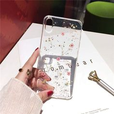 Real Flowers Dried Flowers Transparent Soft TPU Cover For iPhone X 6 7 8 plus Phone Case For iphone XR XS Max Cover - Transparent Iphone 7 Plus Case - - Real Flowers Dried Flowers Transparent Soft TPU Cover For iPhone X 6 6 elegantonlinemarket Iphone 8 Plus, Iphone 11, Apple Iphone, Diy Iphone Case, Iphone Phone Cases, S8 Phone, Iphone Charger, Dodge Charger, Cute Cases