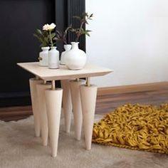 Our Break-A-Leg side table! Available with 6 and 10 legst! Made from Birchwood and brass details! #interiortrend #contemporaryinterior #furnituredesign #interiordesign #productdesign #interiorphotography #architectureanddesign #midcenturymodern #deko #pillowdesign #inredningsdesign #minimalmood #frenchinterior #inneneinrichtung #danishdesign #lightdesign #scandinavianhome #marble #italiandesign #inredningsdetalj #whitespace #minimaldesign #monochrome #hollywoodregency #greyinterior…