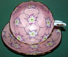 VINTAGE ROYAL STAFFORD Cup and Saucer - Simply Beautiful #RoyalStafford