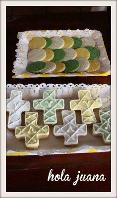 Cookies y detalles en chocolate.