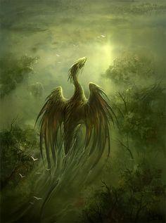 swamp dragon by sandara.deviantart.com on @DeviantArt