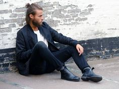 men black chelsea boots outfit