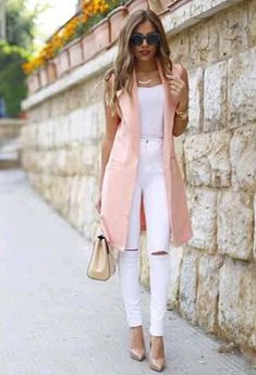 From Casual To Chic, 50 Trending Fall Outfits You Should Own Gefallen an der Weste Summer Work Outfits, Casual Work Outfits, Business Casual Outfits, Mode Outfits, Classy Outfits, Chic Outfits, Fall Outfits, Fashion Outfits, Casual Jeans