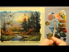 Paint Along with Larry Hamilton - Oct.15, 2014 Oil Painting - Bridge and Boat - YouTube