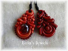Red Passion pendants by Shatiel85.deviantart.com on @deviantART