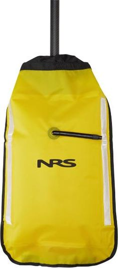 cdc13039503 NRS Inflatable Paddle Float Yellow Kayak Paddle