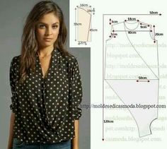 Sheer twist front blouse
