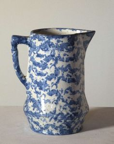 Late 19th to Early 20th Century Spongeware Pitcher image 7