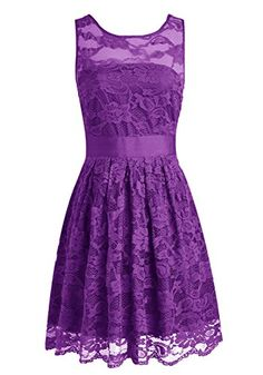Wedtrend Floral Lace Dress Bridesmaid Dress Short Homecoming Dress Size 2 Purple Wedtrend http://www.amazon.com/dp/B0146KA6GW/ref=cm_sw_r_pi_dp_Q-63vb1HD8R93
