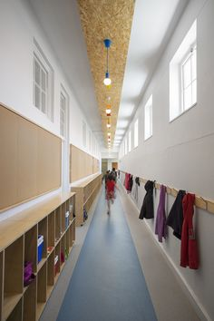 Pasillo del Colegio Francés en Cape Town, por Kritzinger Architects