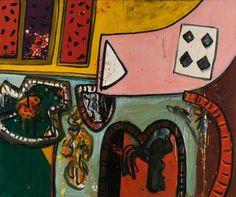 Mailart Collage  - Alan Davie paintings