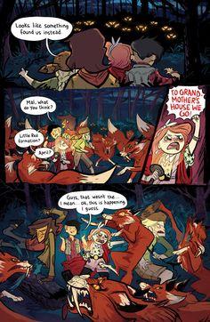 Lumberjanes (Grace Ellis, Noelle Stevenson, and Brooke A. Allen, 2014) | 13 Comics That Smash The Patriarchy