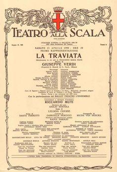 Theatre La Scala Orchestra & Choir - Verdi: La Traviata (2012) https://www.youtube.com/watch?v=n3N2tYOXm4E