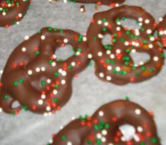 Ghirardelli chocolate covered pretzels