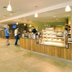 Servery for cakes, coffee and drinks, Cofton Country Holidays, Devon, England