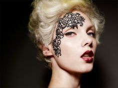 Lace Makeup Tips and Tutorials for Halloween and Costume Events
