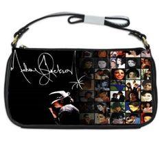 New Michael Jackson King Of Pop Clutch Bag Purse Gift