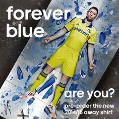 Η νέα εμφάνιση της Chelsea #chelseafc #foreverblue