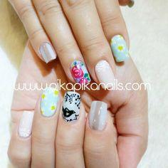 """""""#nail #nails #nailart #art #fashion #cute #love #beautiful #beauty #nailpolish #polish #nailswag #unhas #nailsalon #gliter #ネイル #instagood #style #girl…"""""""