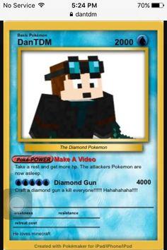 DanTdm Poké Card