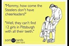 No Steeler Cheerleaders