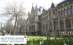 GREAT BRITAIN Nottingham Trent University is ranked amongst the #UK's greenest #universities in the Green League for their #environmental commitment. It is an #international #university, with #students and staff drawn from over 100 countries around the world. It has 28,000 students #studying in an #inspiring #learning environment. http://www.ntu.ac.uk/