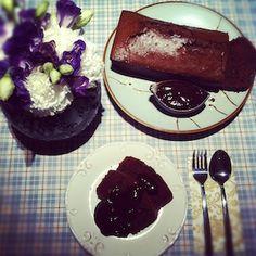 Bolo Double Chocolate - Receitas de Bolo - I COULD KILL FOR DESSERT