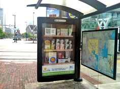 Bus Stop Advertising by Food Lion with QR code access to savings.   http://arcreactions.com/coke-get-50-million-facebook-fans-wasnt-one/