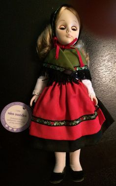 Wolfpit collectible vintage 1964 wolfpit enterprises doll 14 effanbee doll miss sweden collectible 11 1111 no box last call negle Images