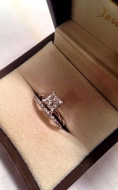 LOVE the engagement ring and the wedding band!!!