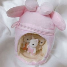 Beanie Babies, Calico Critters Families, Pink Themes, Sylvanian Families, Cute Little Things, Pink Aesthetic, Gore Aesthetic, Softies, Sanrio