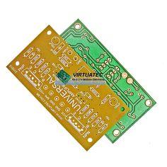 2x Placa p/ montar Amplificador Universal