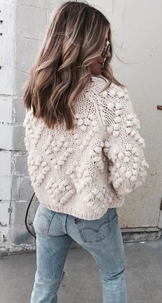 fall  outfits women s white knitted top Módní Trendy 6fece1d158