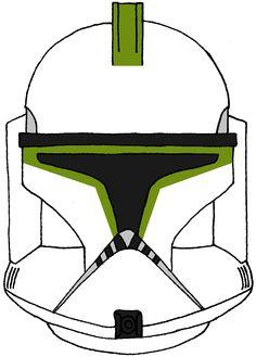 Clone Trooper Helmet 7th Sky Corps 1