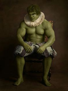 The Hulk -- Sacha Goldberger