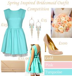 Fearless Brides Fashion Blogger Challenge: Spring-inspired bridesmaid outfit by Something To Say
