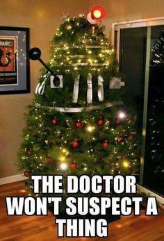 Nice try, Dalek!  #DoctorWho