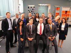 White Collar gang - awesome!