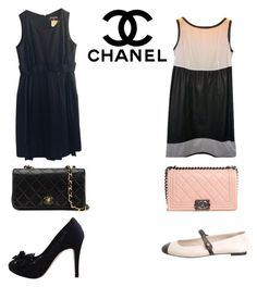 """C is for Chanel"" by style-princess-256 ❤ liked on Polyvore featuring Chanel, women's clothing, women's fashion, women, female, woman, misses and juniors"