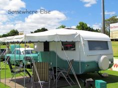 Somewhere Else » Time Machines. There were some interesting caravans and camper trailers at GM Owners Day last weekend. Greg P, a regular show attendee, was there with his 1970s Baravan and matching 1961 EK Holden. *This is in Australia.**