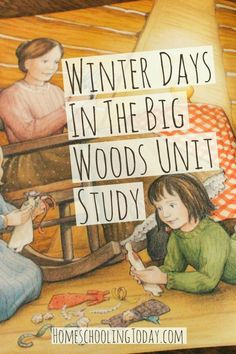 winter days in the big woods unit study - Who hasn't read the Little House series by Laura Ingalls Wilder? They are often the first novels children read. These books have inspired a picture book series called My First Little House Books. This series puts the timeless characters of the Little House books into the hands of young pre-readers. The illustrations, inspired by the original Garth Williams ink drawings in the infamous chapter books, complement the abbreviated text.