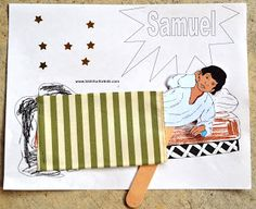 Samuel preschool lesson for kids