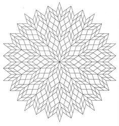 Mandalas Para Pintar: mandala para colorear de armonia... Loads of mandala and other designs.. So.o.o many !!