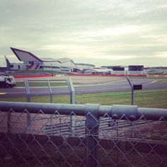 Silverstone wing. Can't wait to be back there.  2013 British GP