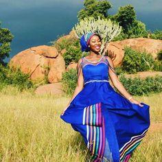 Sepedi Traditional Dresses, African Traditional Wedding, Xhosa, Wedding Goals, Dress Designs, African Dress, African Fashion, Designer Dresses, Wedding Inspiration