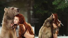 Russian Photographer Captures Fairy-tale Scenes with Real Animales - BoredPanda Fantasy Photography, Animal Photography, Amazing Photography, Merida Cosplay, Real Life Fairies, Photographer Wanted, Fantasy Series, Female Poses, Bored Panda